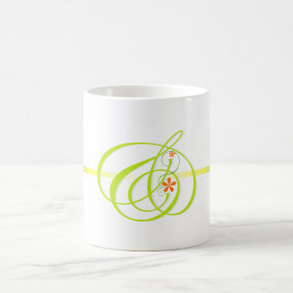 Green color And-mark Simple Mugs