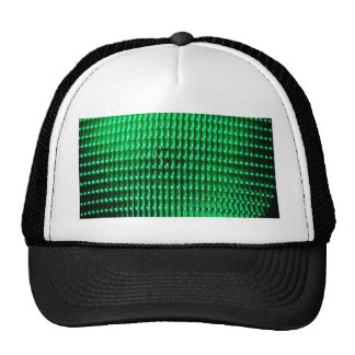 Green Color Iamge Hat