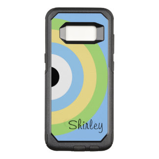 Green Combination Bullseye by Shirley Taylor OtterBox Commuter Samsung Galaxy S8 Case