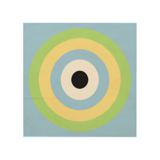 Green Combination Bullseye by Shirley Taylor Wood Wall Decor