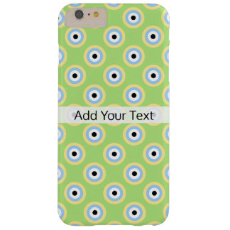 Green Combination Circles by Shirley Taylor Barely There iPhone 6 Plus Case