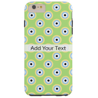 Green Combination Circles by Shirley Taylor Tough iPhone 6 Plus Case