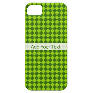 Green Combination Diamond Pattern by STaylor iPhone 5 Case