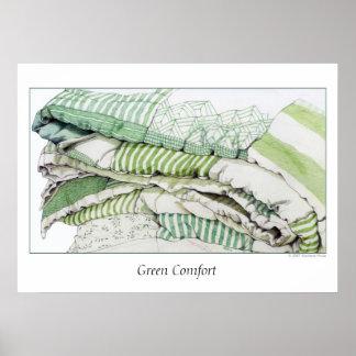 Green Comfort Poster