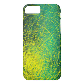 Green Complex Yellow - Apple iPhone Case