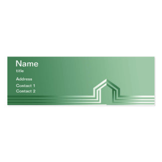 Green Construction Business Cards