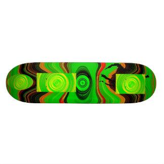 Green Cool Skateboard Deck