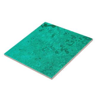 Green Copper Verdigris Patina Dot Tiles