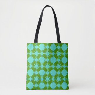 Green Crab Tote Bag