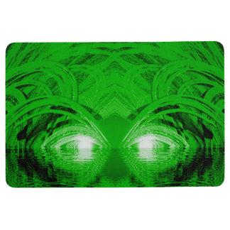 Green Creature of the Lake Floor Mat