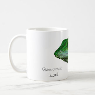 Green-crested Lizard Mug