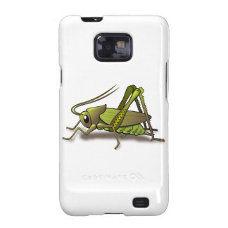 Green Cricket Insect Galaxy S2 Cases