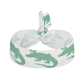 Green Crocodile Alligator Animals Cute Hair Tie