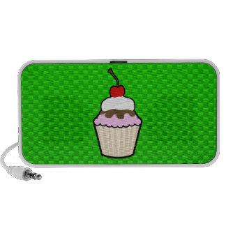 Green Cupcake Travelling Speakers