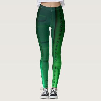 Green Curcitboard Leggings