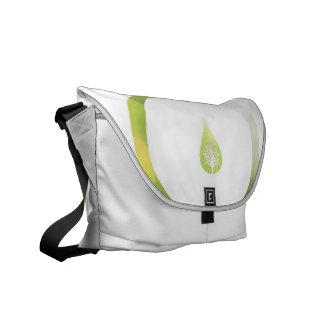 Green Cycle Messenger Bag