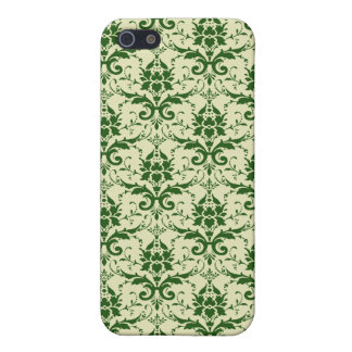 Green Damask Pattern iPhone 5/5S Cover