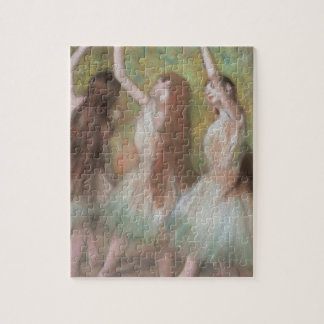 Green Dancers by Edgar Degas, Vintage Ballet Art Jigsaw Puzzle