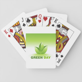 Green Day Playing Cards