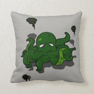 Green Day Throw Pillow