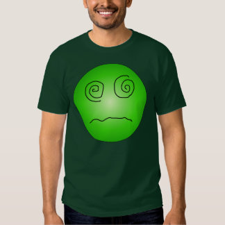 Green Dazed and Confused Smiley T Shirts