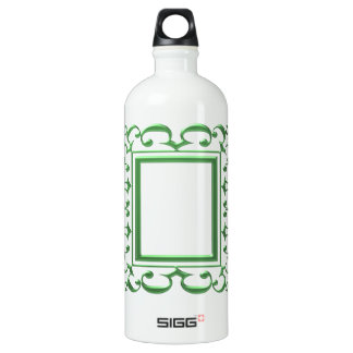 GREEN Decorative Border : Think multi uses SIGG Traveler 1.0L Water Bottle