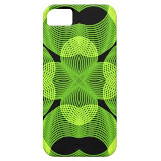 Green Decorative Swirly Spirograph Geometric Art iPhone 5 Covers