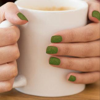 Green Denim (Blue Jean) Nails Sticker