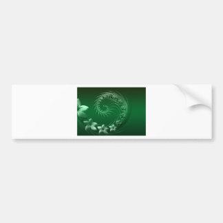 Green Design Party Destiny Celebration Bumper Stickers