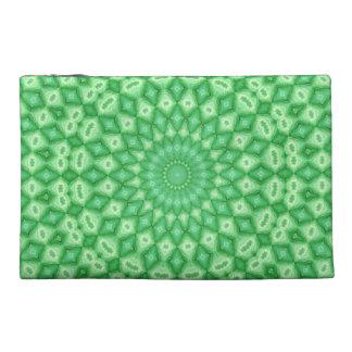 Green Diamonds Travel Accessory Bags
