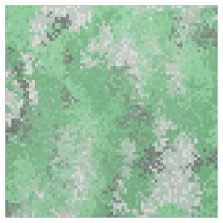 Green Digi Camo Fabric