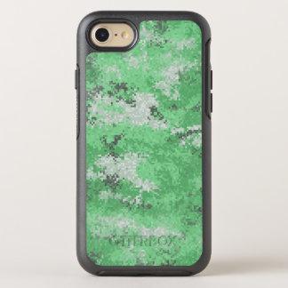 Green Digi Camo OtterBox Symmetry iPhone 8/7 Case