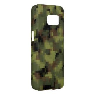 Green Digital Military Camo Samsung Galaxy S7 Case