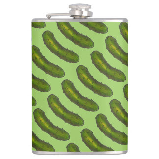 Green Dill Pickles Pickle Foodie Flask