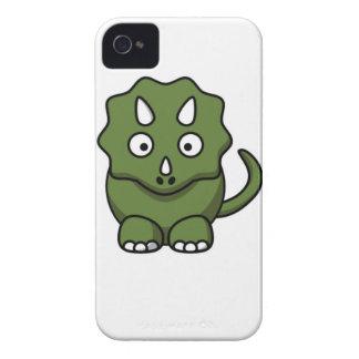 green dinosaur cartoon iPhone 4 cases