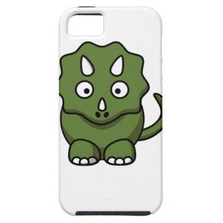 green dinosaur cartoon iPhone 5 case