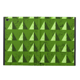 Green Distressed Geometric Pattern Powis iPad Air 2 Case