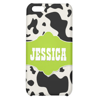 Green Divine Bovine Cover For iPhone 5C