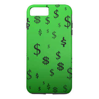 Green Dollar Sign Print iPhone 7 Plus Case