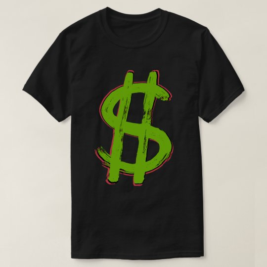 Green Dollar Sign T-Shirt