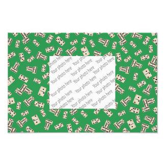 Green dominos photo