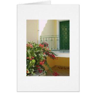 Green Door Note Card