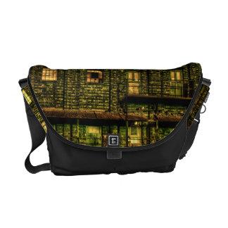 Green Doors Messenger Bags