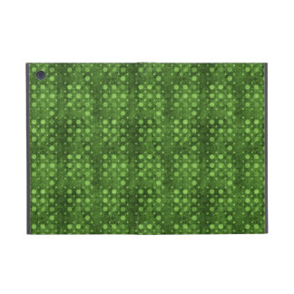 Green Dots Grunge Cases For iPad Mini