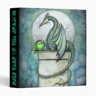 Green Dragon Binder Year of the Dragon