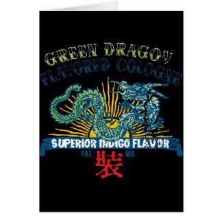 Green Dragon Cologne Card