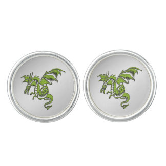 Green Dragon Cufflinks