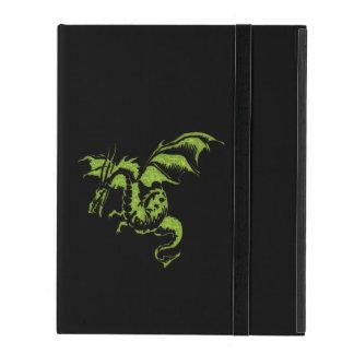 Green Dragon iPad Cover