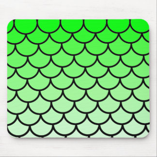 Green Dragon Lizard Scales Mousepad