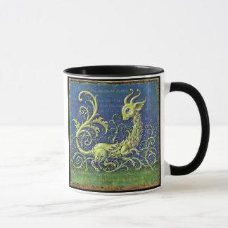 Green Dragon Mug, Motion of Plants Mug